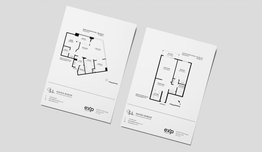 Professional floor plans