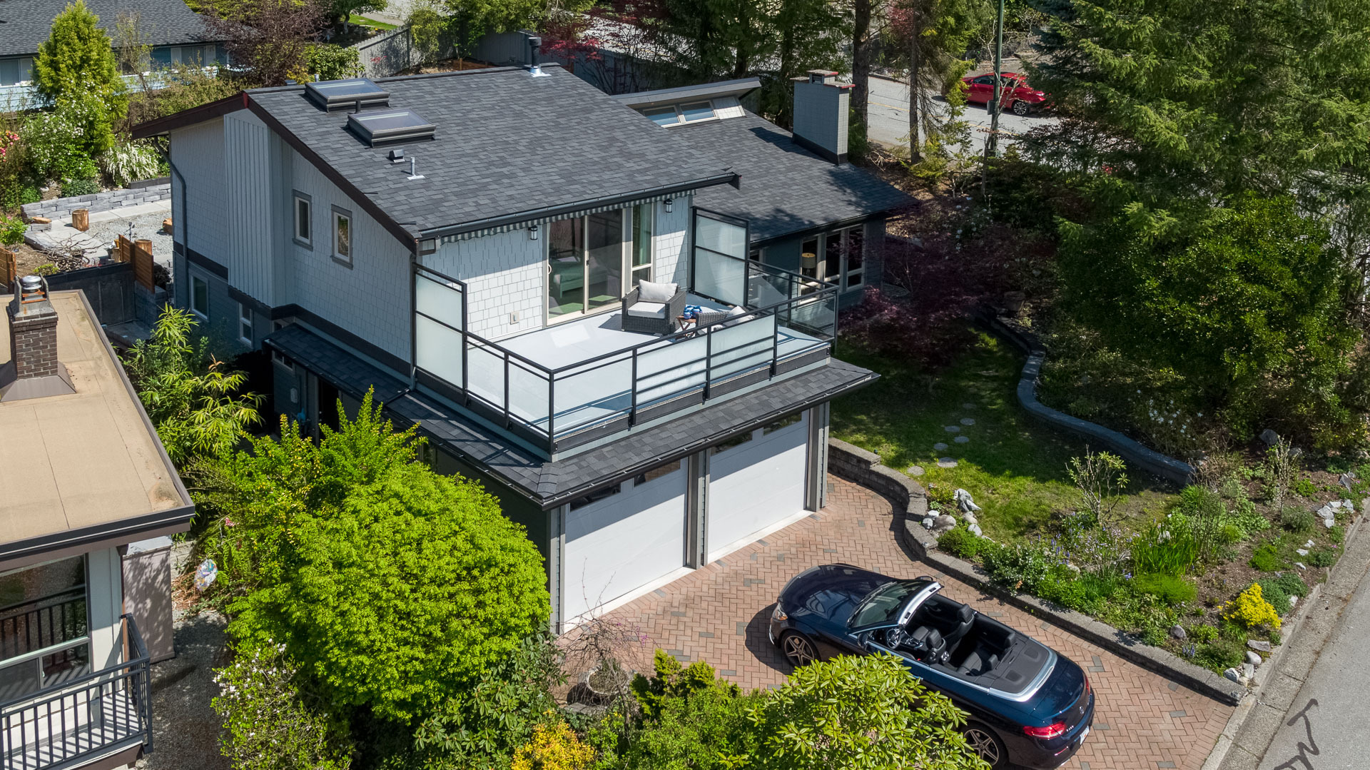 183-roe-dr-aerial-360hometours-04s at 183 Roe Drive, Barber Street, Port Moody