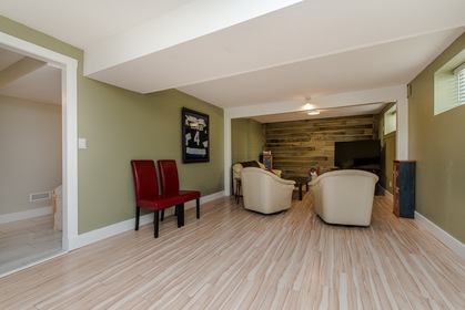 Large Rec Room at 34943 Cassiar Avenue, Abbotsford East, Abbotsford