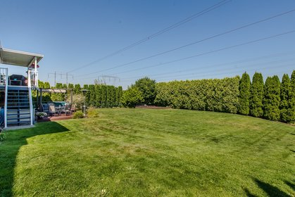 Huge Backyard at 34943 Cassiar Avenue, Abbotsford East, Abbotsford