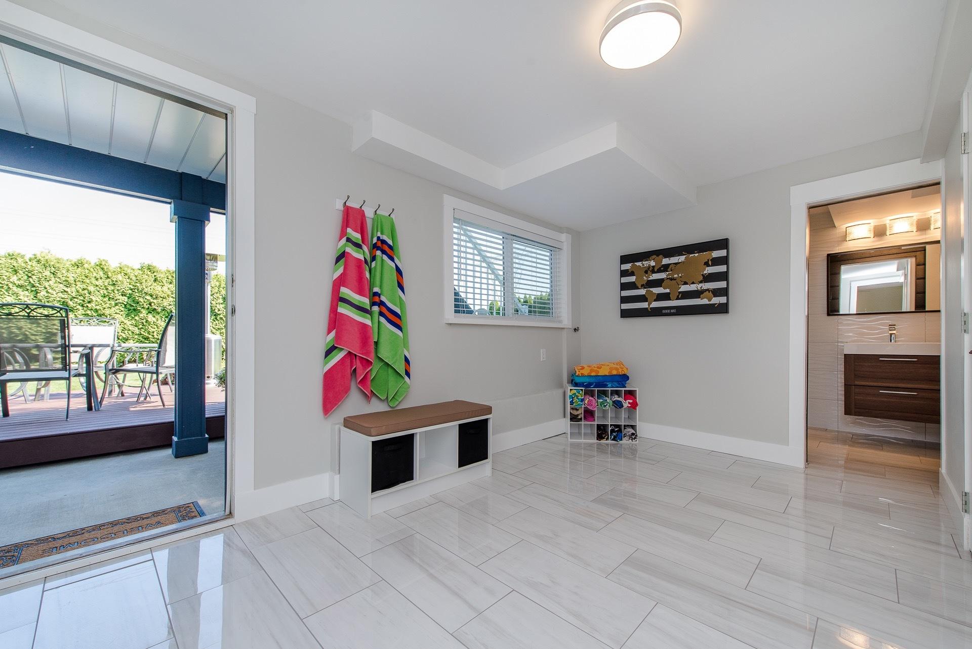 Rear Mud Room at 34943 Cassiar Avenue, Abbotsford East, Abbotsford