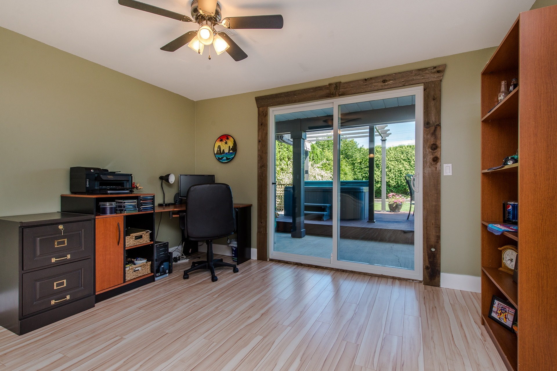 Home Office at 34943 Cassiar Avenue, Abbotsford East, Abbotsford