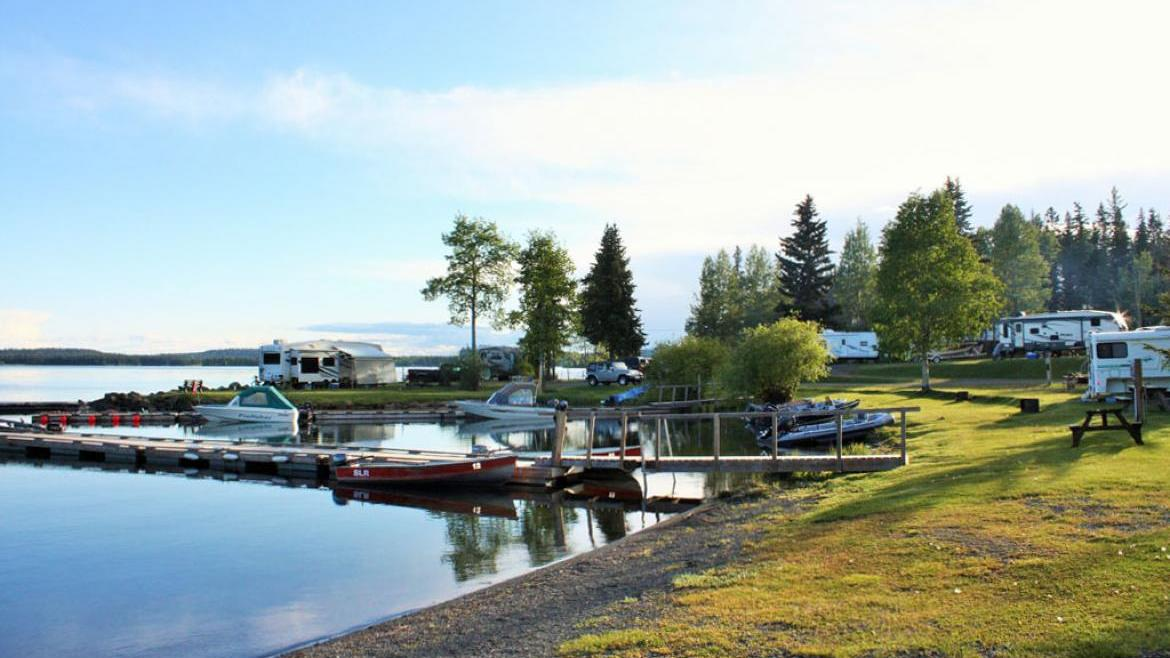 Sheridan Resort Resort, Bridge Lake/Sheridan Lake, Cariboo
