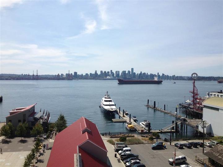 Cascade At The Pier at 407 - 175 Victory Ship Way, Lower Lonsdale, North Vancouver