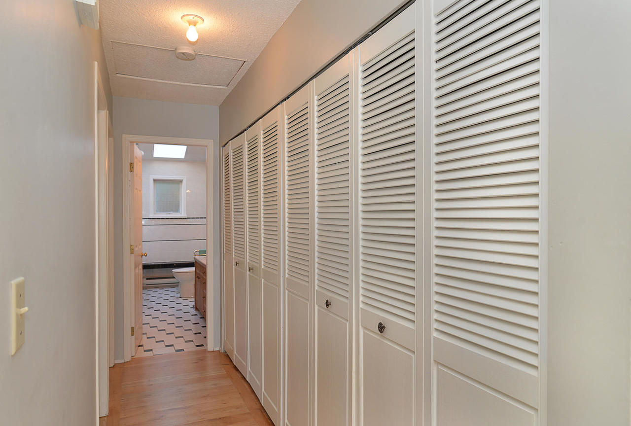 Hallway with massive closets/storage at  , Sechelt District, Sunshine Coast