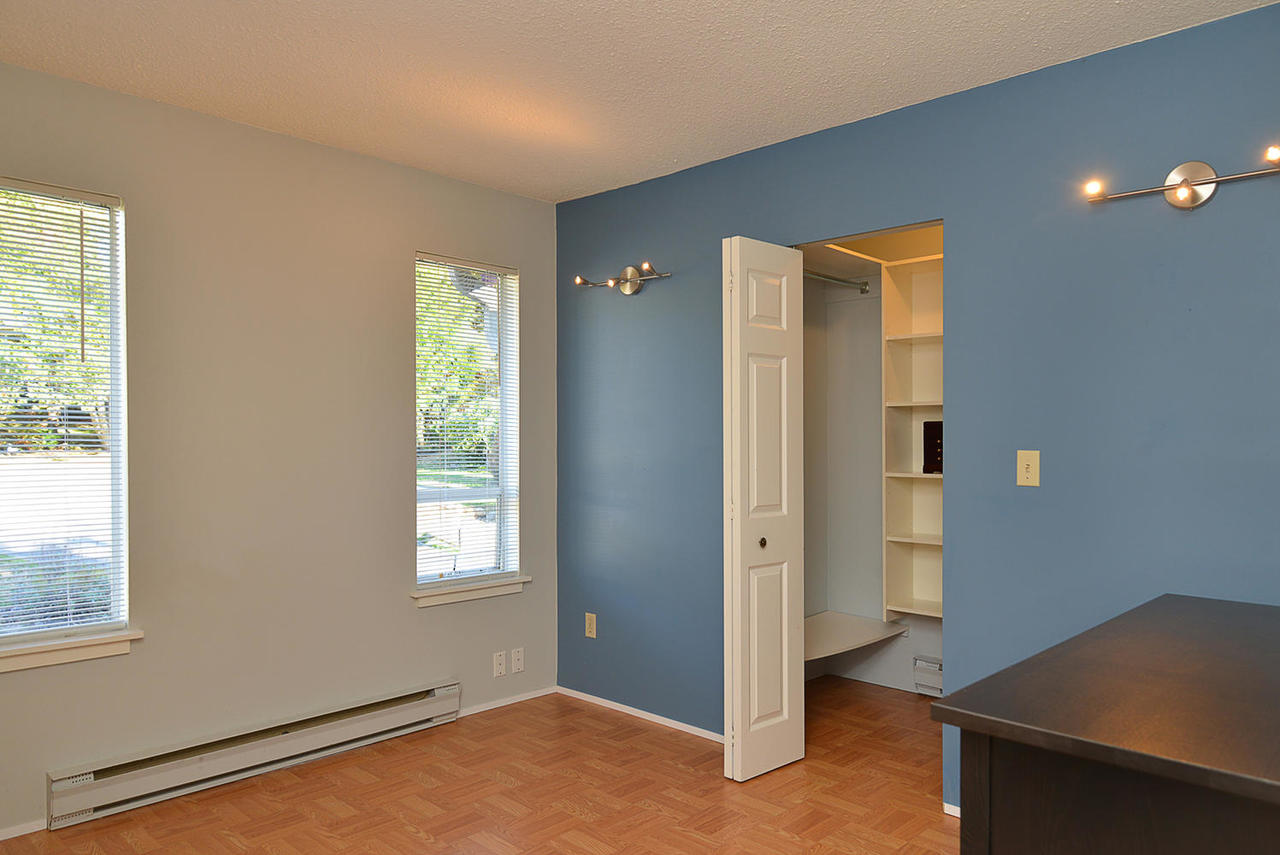 2nd Bedroom with walk-in closet at  , Sechelt District, Sunshine Coast