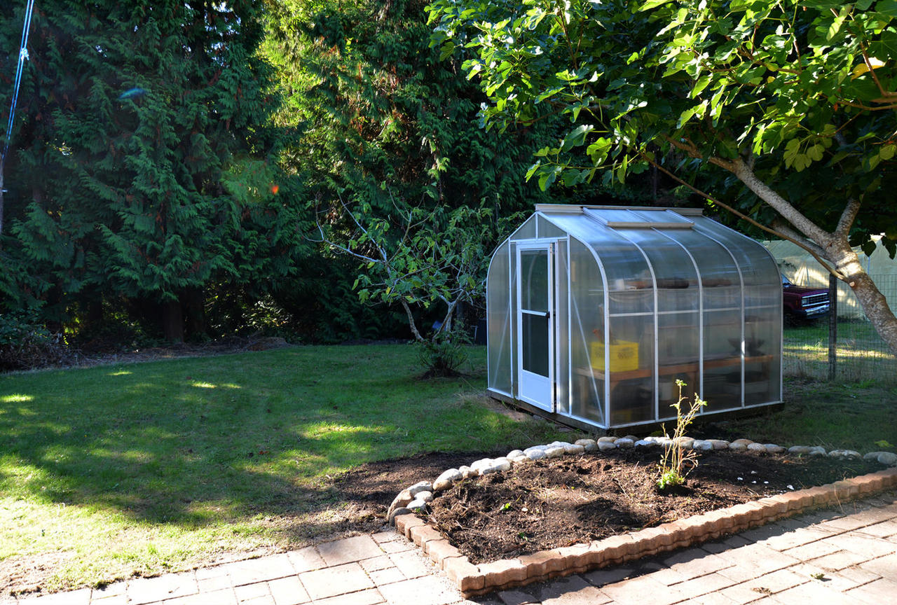 Greenhouse with it's own water and electrical at  , Sechelt District, Sunshine Coast