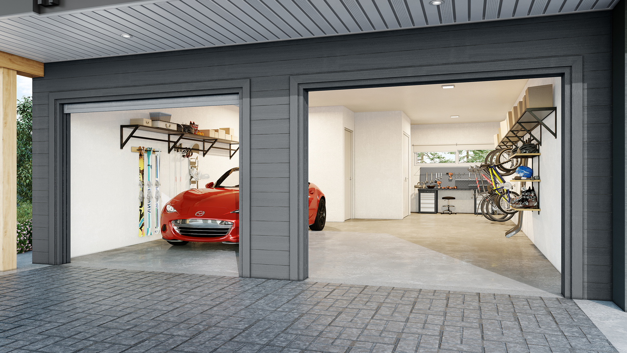garage-final at 856 Orwell Street, Lynnmour, North Vancouver