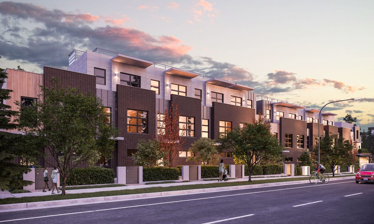exterior-street-level-rendering-low-res at 3490 Mount Seymour Parkway, Northlands, North Vancouver