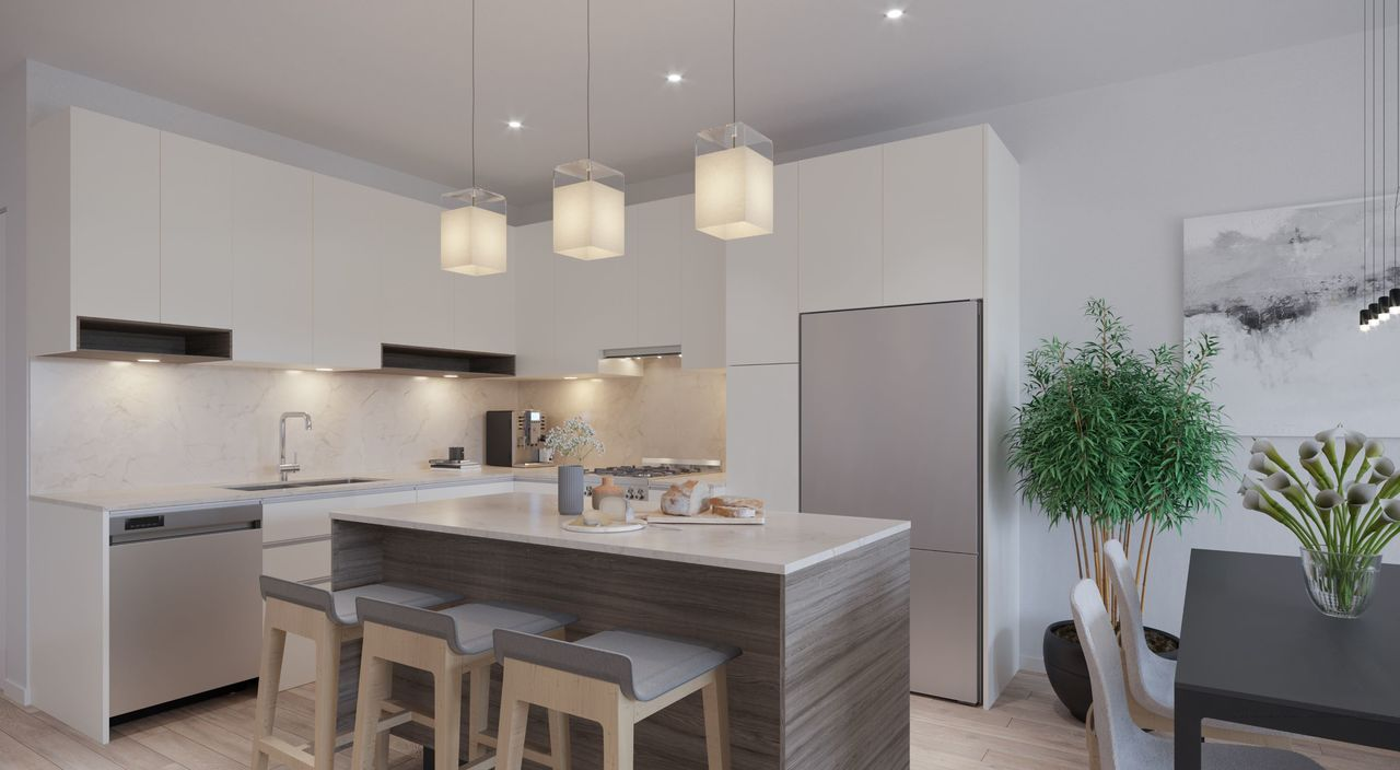 kitchen-rendering-low-res at 3490 Mount Seymour Parkway, Northlands, North Vancouver