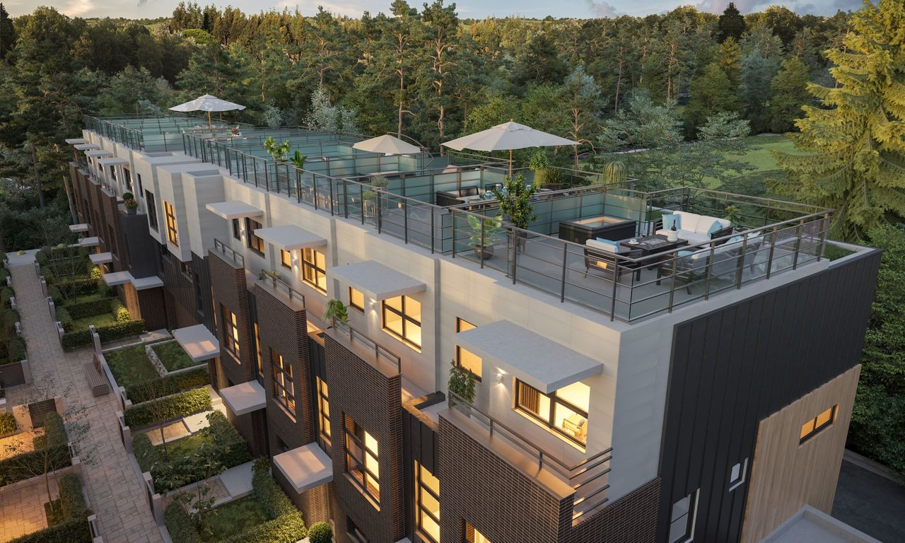 rooftop-rendering-low-res at 3490 Mount Seymour Parkway, Northlands, North Vancouver