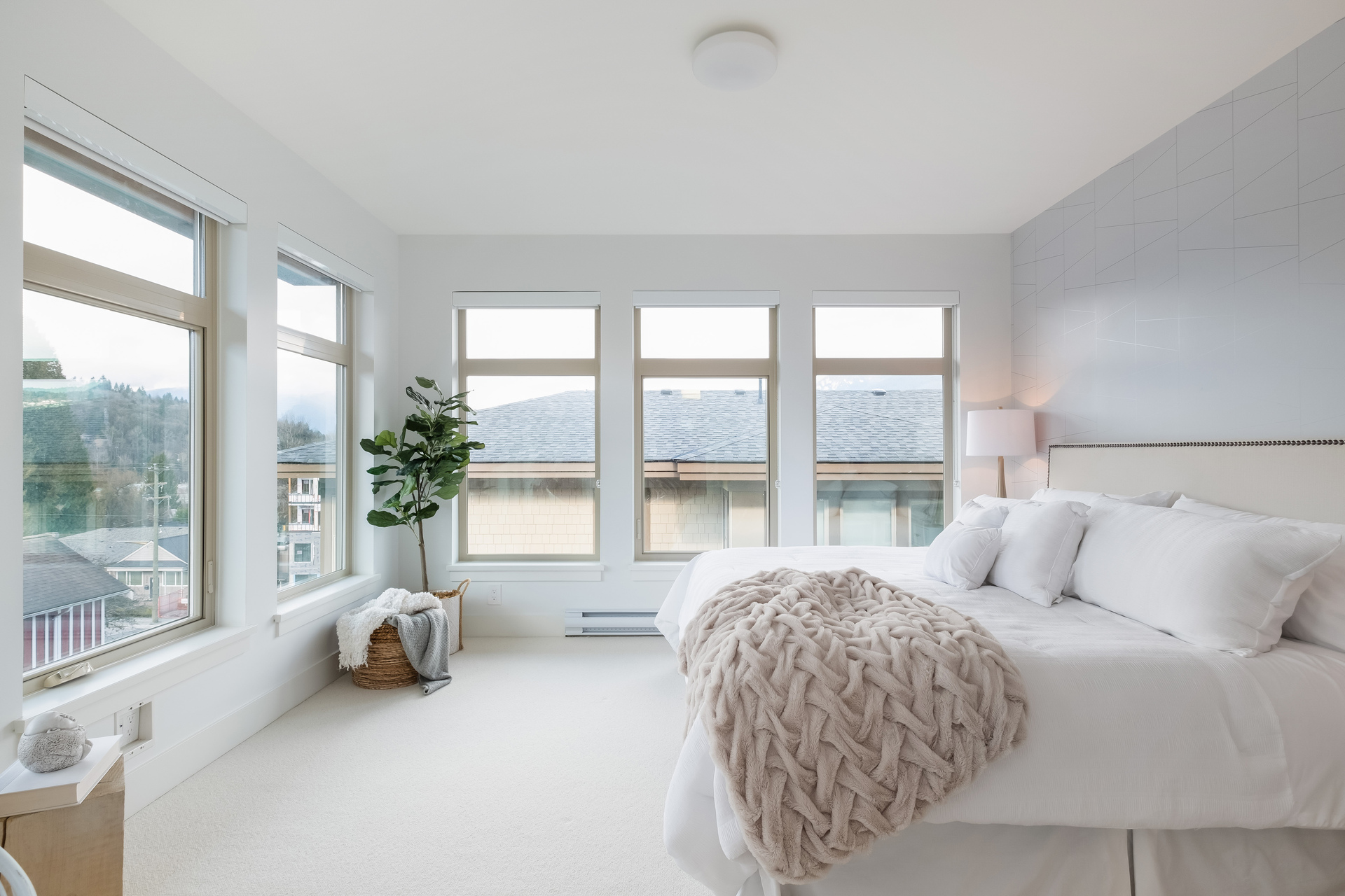 Master Bedroom at 2317 St. Andrews Street, Port Moody Centre, Port Moody