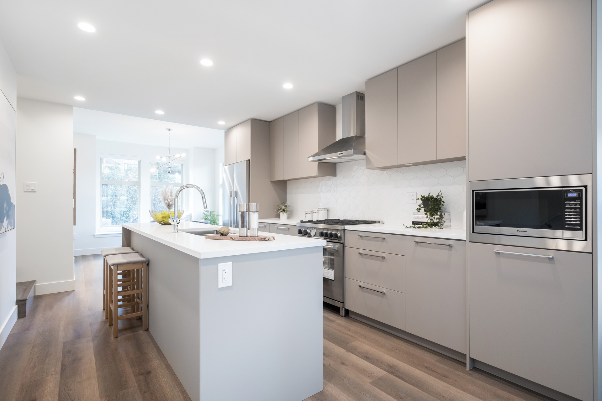 Kitchen at 2317 St. Andrews Street, Port Moody Centre, Port Moody