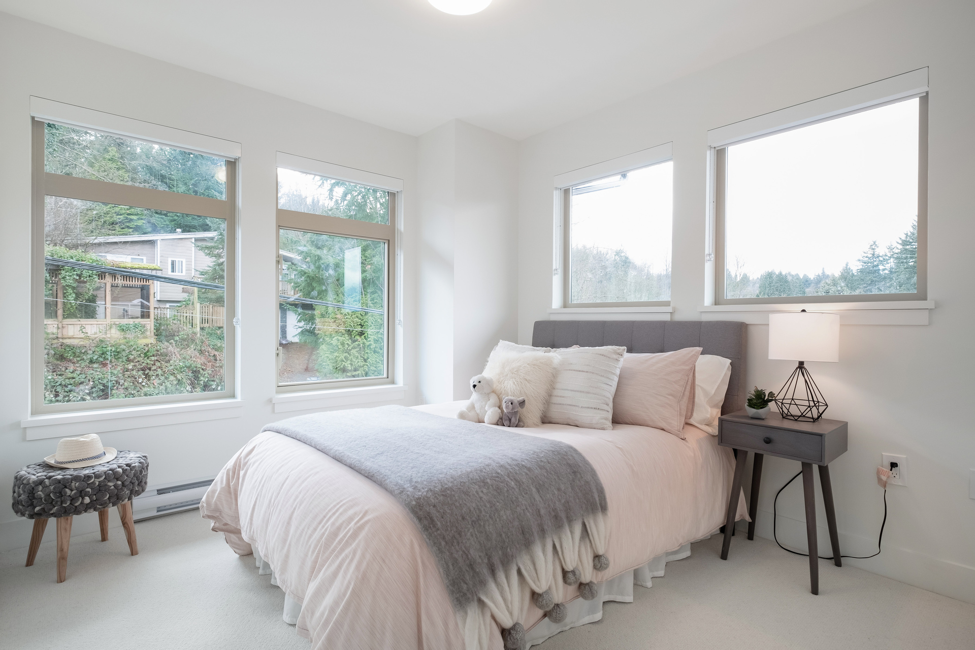 Bedroom at 2317 St. Andrews Street, Port Moody Centre, Port Moody