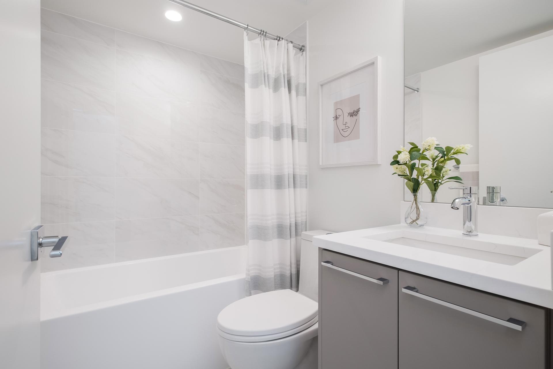 Bathroom at 2317 St. Andrews Street, Port Moody Centre, Port Moody