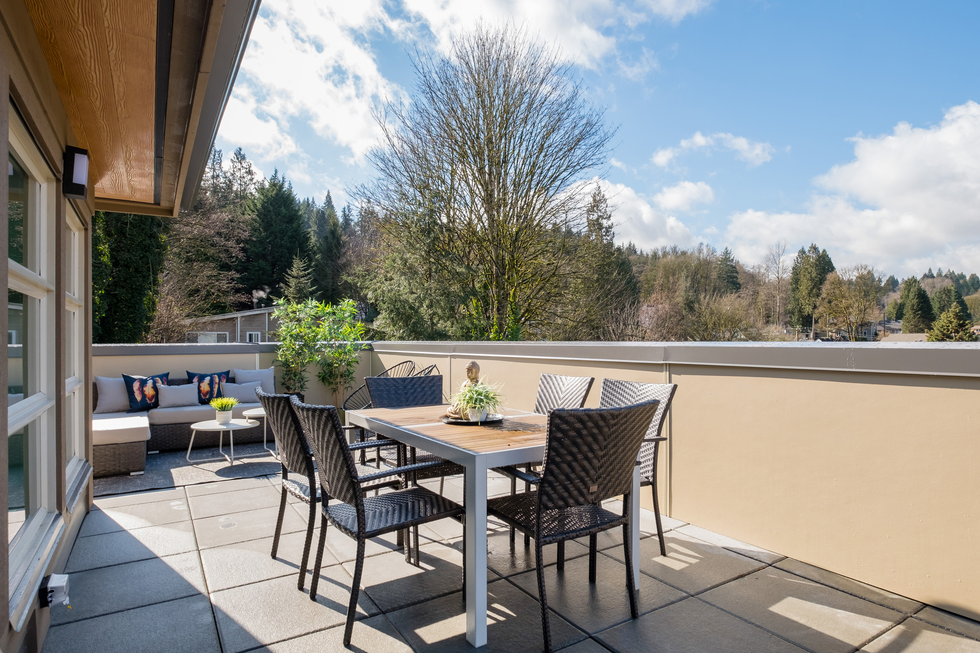 Rooftop Patio at 2317 St. Andrews Street, Port Moody Centre, Port Moody