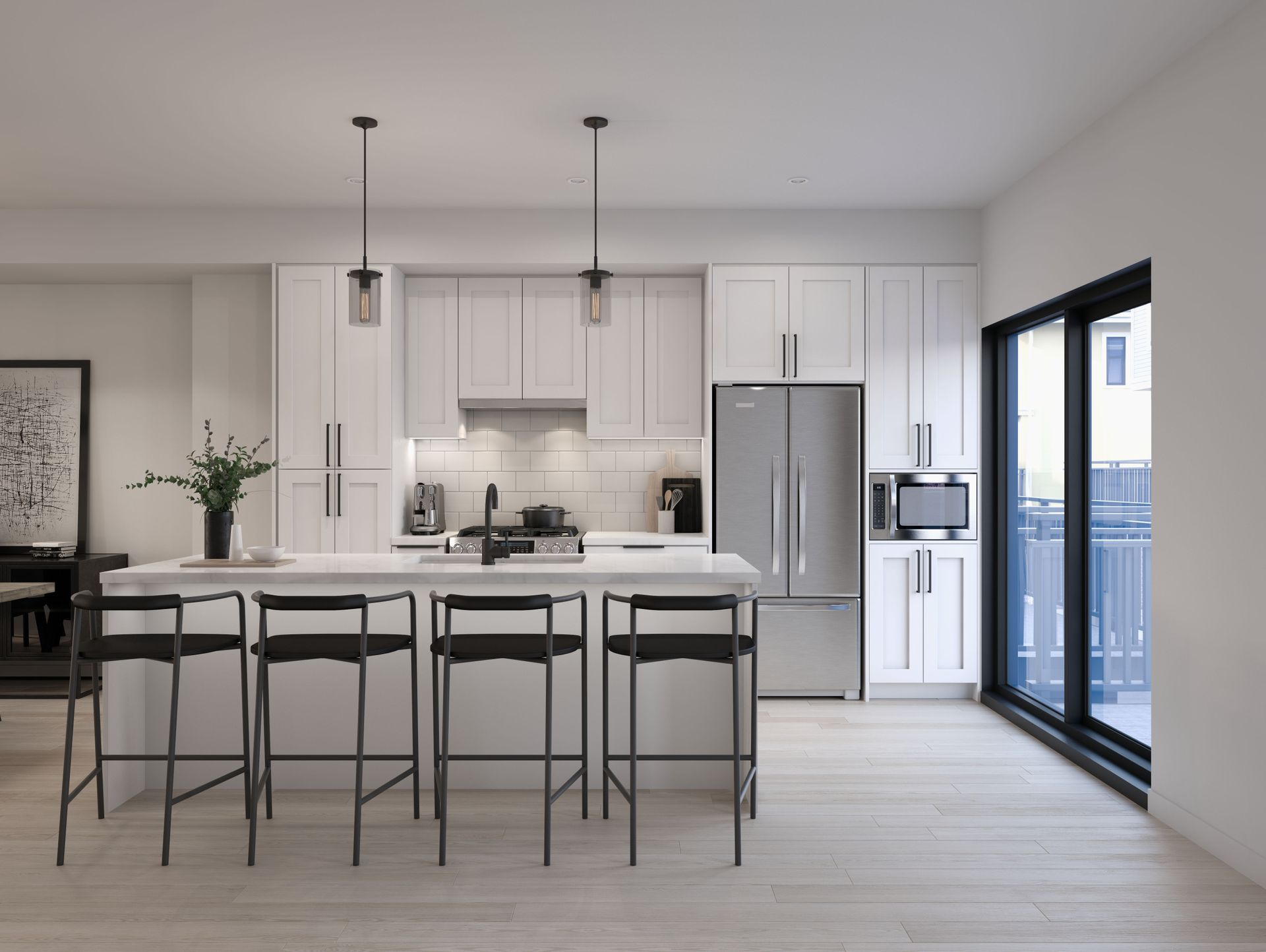 kitchen-white at 2803 St. George Street, Port Moody Centre, Port Moody
