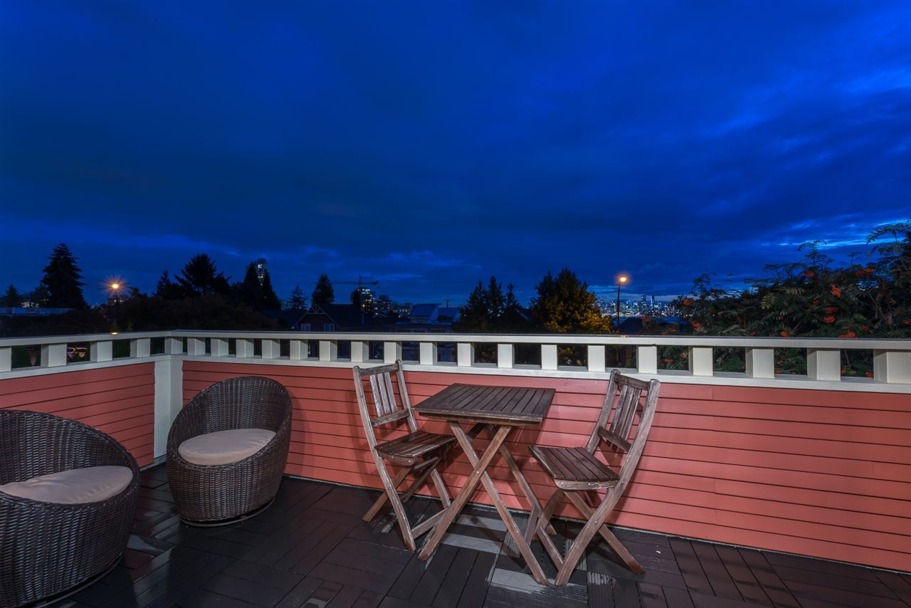 patio at 238 W 5th Street, Lower Lonsdale, North Vancouver