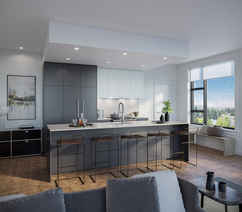 One Shaughnessy Kitchen - Port Coquitlam V8 at 2446 Shaughnessy Street, Central Pt Coquitlam, Port Coquitlam