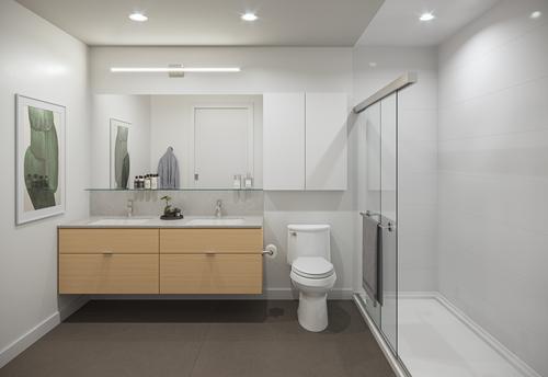 One Shaughnessy Bathroom - Port Coquitlam V5 at 2446 Shaughnessy Street, Central Pt Coquitlam, Port Coquitlam