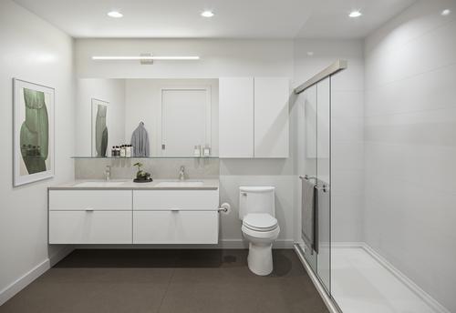 One Shaughnessy Bathroom - Port Coquitlam V1 at 2446 Shaughnessy Street, Central Pt Coquitlam, Port Coquitlam