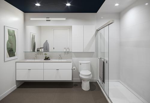 One Shaughnessy Bathroom - Port Coquitlam V3 at 2446 Shaughnessy Street, Central Pt Coquitlam, Port Coquitlam