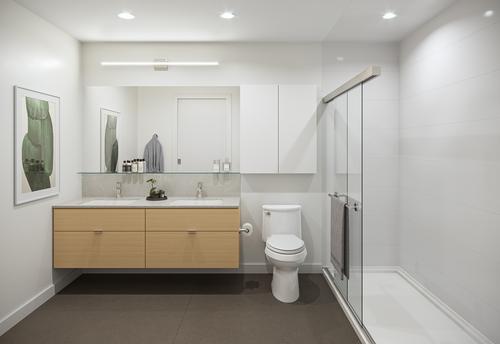 One Shaughnessy Bathroom - Port Coquitlam V4 at 2446 Shaughnessy Street, Central Pt Coquitlam, Port Coquitlam