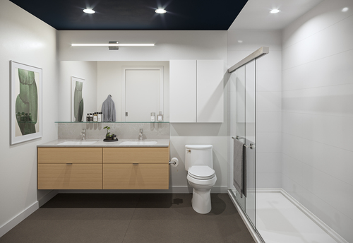 One Shaughnessy Bathroom - Port Coquitlam V6 at 2446 Shaughnessy Street, Central Pt Coquitlam, Port Coquitlam