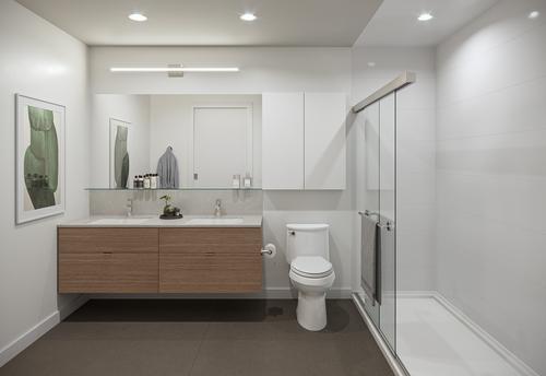 One Shaughnessy Bathroom - Port Coquitlam V8 at 2446 Shaughnessy Street, Central Pt Coquitlam, Port Coquitlam