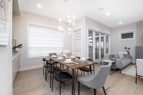 Eterno-South-Surrey-Dining-Room at 16665 19 Avenue, Grandview Surrey, South Surrey White Rock
