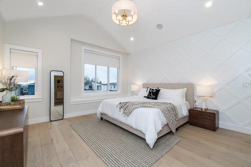 Eterno-South-Surrey-Master-Bedroom at 16665 19 Avenue, Grandview Surrey, South Surrey White Rock