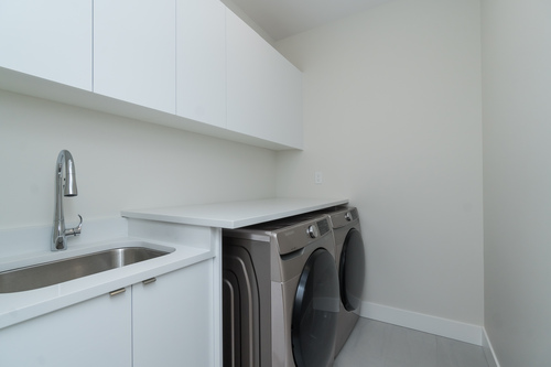 Eterno-South-Surrey-Laundry-Room at 16665 19 Avenue, Grandview Surrey, South Surrey White Rock