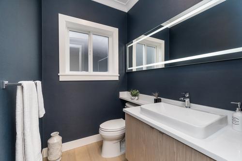 Eterno-South-Surrey-Powder-Room at 16665 19 Avenue, Grandview Surrey, South Surrey White Rock