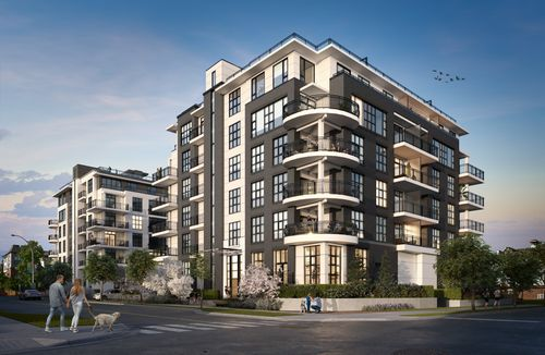 1-two-shaughnessy-building-rendering-min at 2428 Shaughnessy Street, Central Pt Coquitlam, Port Coquitlam