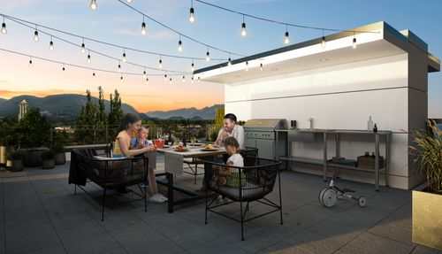 3-two-shaugnessy-rooftop-rendering-min at 2428 Shaughnessy Street, Central Pt Coquitlam, Port Coquitlam