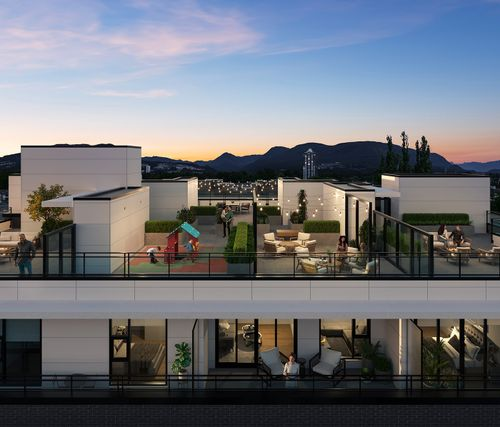 5-two-shaughnessy-rooftop-terraces-rendering-min at 2428 Shaughnessy Street, Central Pt Coquitlam, Port Coquitlam