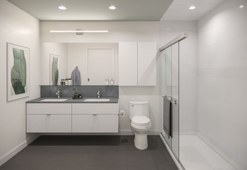 bathroom-rendering-for-two-shaughnessy-colour-combination-2-min at 2428 Shaughnessy Street, Central Pt Coquitlam, Port Coquitlam