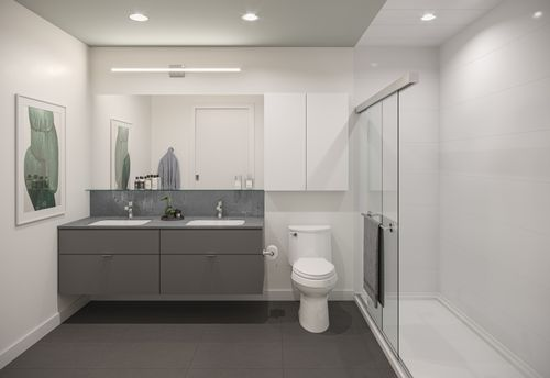 bathroom-rendering-for-two-shaughnessy-colour-combination-5-min at 2428 Shaughnessy Street, Central Pt Coquitlam, Port Coquitlam