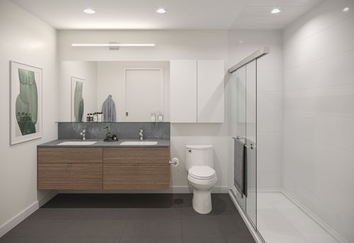 bathroom-rendering-for-two-shaughnessy-colour-combination-7-min at 2428 Shaughnessy Street, Central Pt Coquitlam, Port Coquitlam