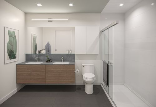 bathroom-rendering-for-two-shaughnessy-colour-combination-8-min at 2428 Shaughnessy Street, Central Pt Coquitlam, Port Coquitlam