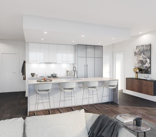kitchen-rendering-two-shaughessy-colour-combination-6-min at 2428 Shaughnessy Street, Central Pt Coquitlam, Port Coquitlam