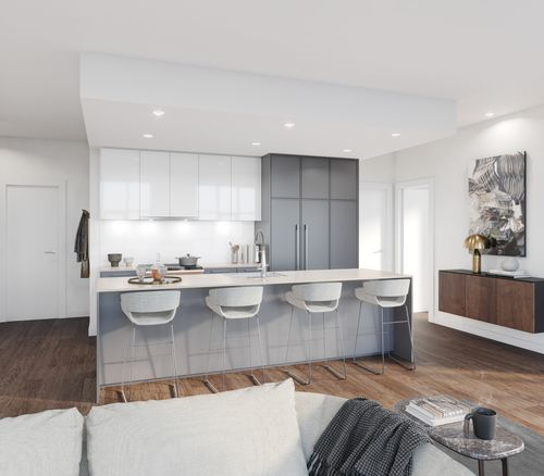 kitchen-rendering-two-shaughessy-colour-combination-8-min at 2428 Shaughnessy Street, Central Pt Coquitlam, Port Coquitlam