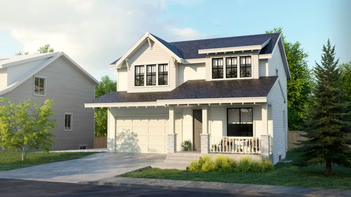 Greenbelt Benchmark Homes at 196a Street, Willoughby Heights, Langley