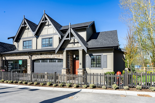 the-links-residences-exterior at 7979 152 Street, East Newton, Surrey