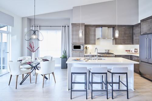 the-links-residences-kitchen at 7979 152 Street, East Newton, Surrey