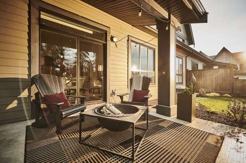 the-links-residences-outdoor-patio at 7979 152 Street, East Newton, Surrey