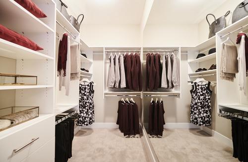 the-links-residences-master-bedroom-closet at 7979 152 Street, East Newton, Surrey