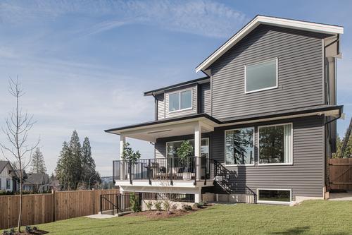 argyle-backyard at 3486 Highland Drive, Burke Mountain, Coquitlam