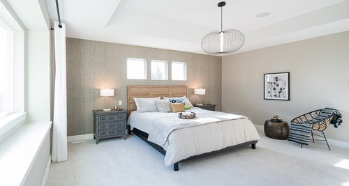 argyle-master-bedroom at 3486 Highland Drive, Burke Mountain, Coquitlam