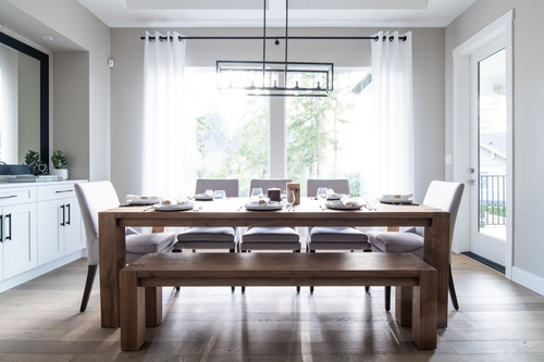 argyle-dining-room at 3486 Highland Drive, Burke Mountain, Coquitlam